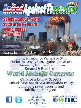 United Against Terrorism Rally